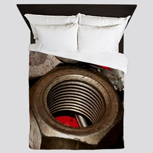 Nut Bolts and Washers Queen Duvet