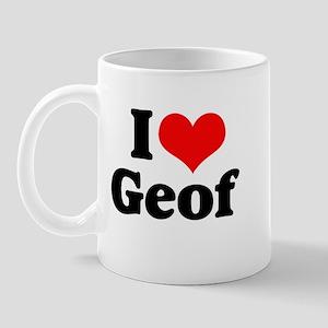I Heart Geof Mug