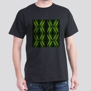 hipster lime green argyle T-Shirt
