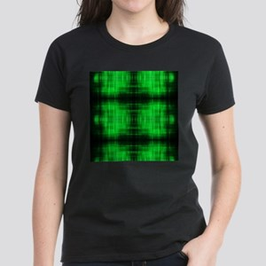 tribal neon green batik T-Shirt