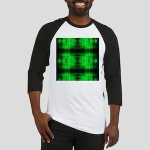 tribal neon green batik Baseball Jersey