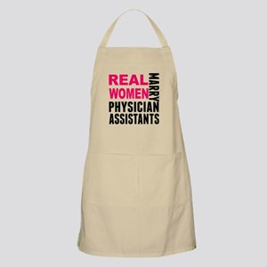 Real Women Marry Physician Assistants Apron