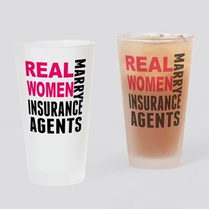 Real Women Marry Insurance Agents Drinking Glass