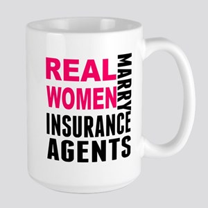 Real Women Marry Insurance Agents Mugs
