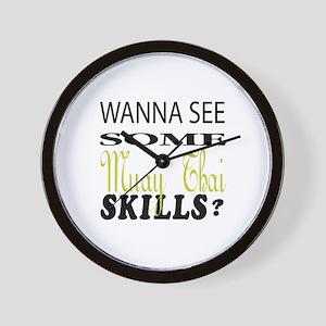 Wanna See Some Malla Yuddha Skills ? Wall Clock