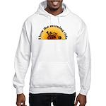 I Love the Morning Ride Hooded Sweatshirt