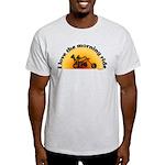 I Love the Morning Ride Light T-Shirt