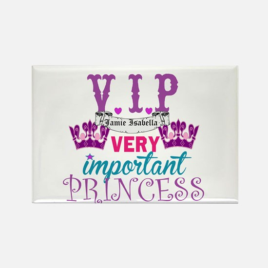 Vip Princess Personalize Magnets