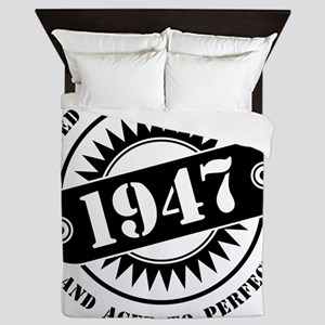 LIMITED EDITION MADE IN 1947 Queen Duvet
