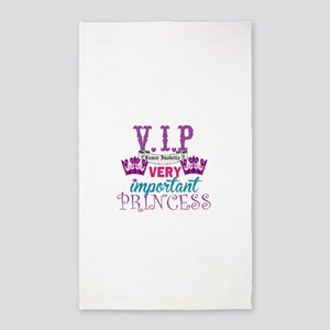 VIP Princess Personalize Area Rug