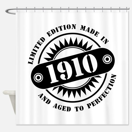 LIMITED EDITION MADE IN 1910 Shower Curtain