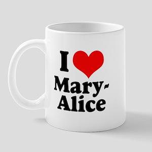 I Heart Mary-Alice Mug