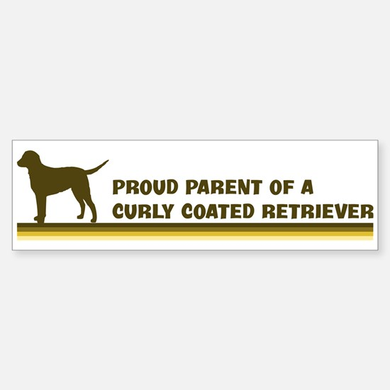 Curly Coated Retriever (proud Bumper Bumper Bumper Sticker