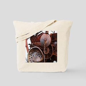 grunge Mechanical Gears rustic  Tote Bag
