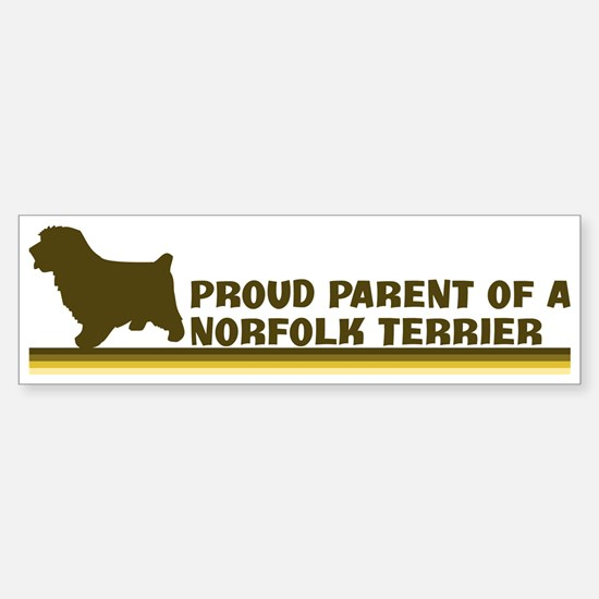 Norfolk Terrier (proud parent Bumper Bumper Bumper Sticker