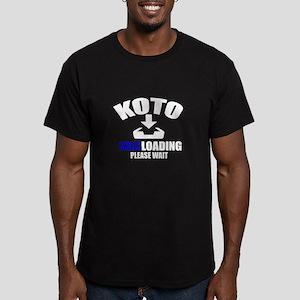 Koto Skills Loading Pl Men's Fitted T-Shirt (dark)
