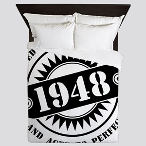LIMITED EDITION MADE IN 1948 Queen Duvet