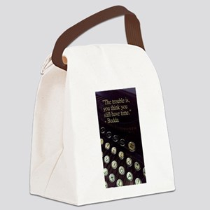 Time Vintage Typewriter Collectio Canvas Lunch Bag