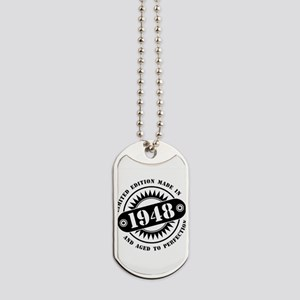 LIMITED EDITION MADE IN 1948 Dog Tags