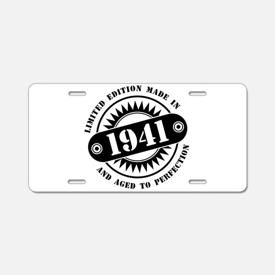 LIMITED EDITION MADE IN 194 Aluminum License Plate