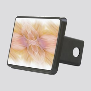 hipster ombre flower water Rectangular Hitch Cover