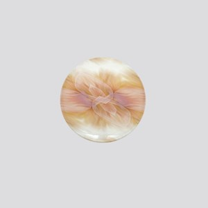 hipster ombre flower watercolor Mini Button