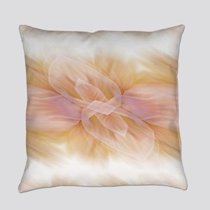 hipster ombre flower watercolor Everyday Pillow