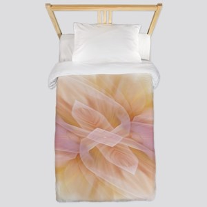 hipster ombre flower watercolor Twin Duvet