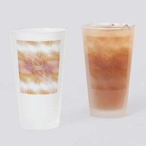 hipster ombre flower watercolor Drinking Glass