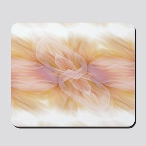 hipster ombre flower watercolor Mousepad