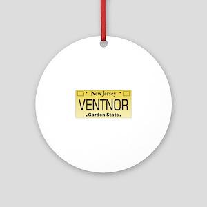 Ventnor NJ Tag Giftware Round Ornament