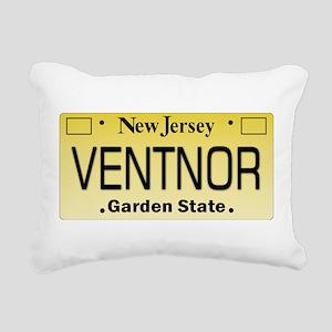 Ventnor NJ Tag Giftware Rectangular Canvas Pillow