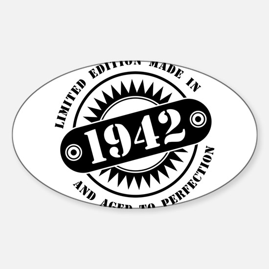 LIMITED EDITION MADE IN 1942 Decal