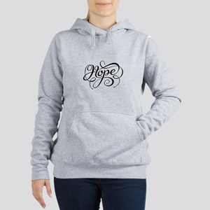Hope (Looping) Women's Hooded Sweatshirt
