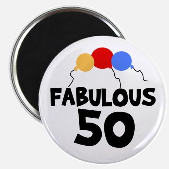 Fabulous 50 Magnet