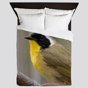 Common Yellowthroat Queen Duvet