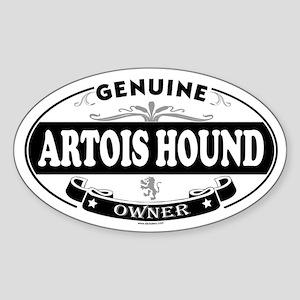 ARTOIS HOUND Oval Sticker