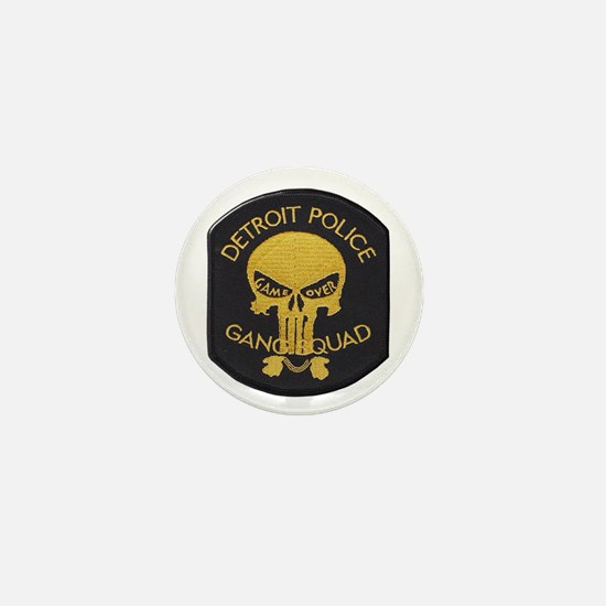 Detroit PD Gang Squad Mini Button