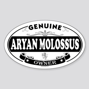 ARYAN MOLOSSUS Oval Sticker