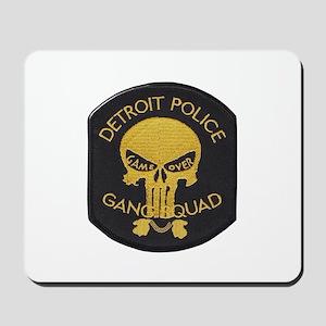 Detroit PD Gang Squad Mousepad