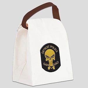 Detroit PD Gang Squad Canvas Lunch Bag