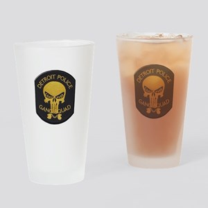 Detroit PD Gang Squad Drinking Glass