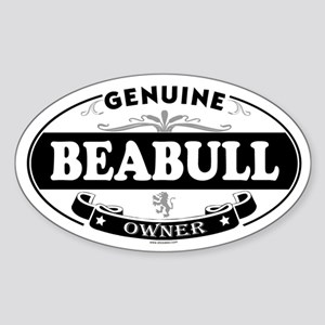 BEABULL Oval Sticker