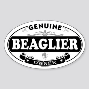 BEAGLIER Oval Sticker