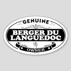 BERGER DU LANGUEDOC Oval Sticker