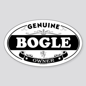 BOGLE Oval Sticker