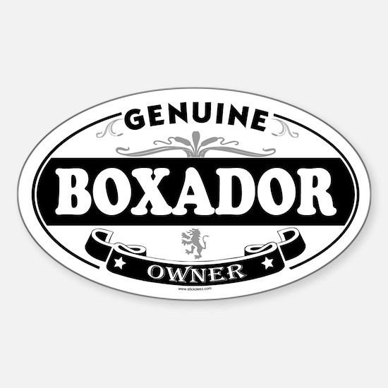 BOXADOR Oval Decal