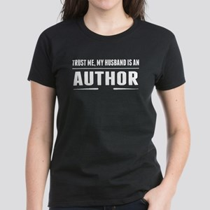 My Husband Is An Author T-Shirt