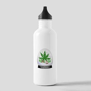 Merry Christmas Mariju Stainless Water Bottle 1.0L