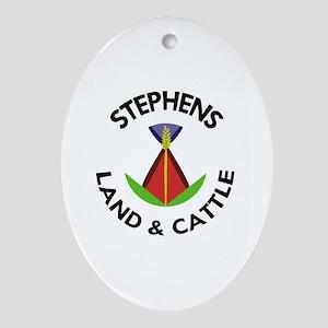 SL&C Logo Oval Ornament